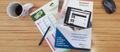 Le secteur touristique wallon et l'e-commerce enfin réunis grâce à l'ORC. Livre Blanc